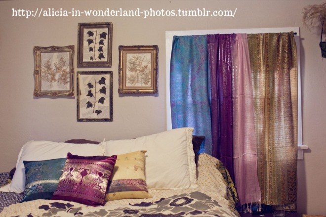 Boho Curtains From Scarves
