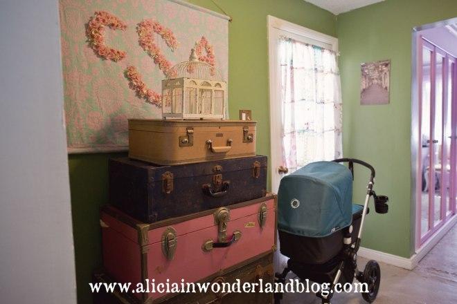 Alicia in Wonderland Blog - Hallway Makeover
