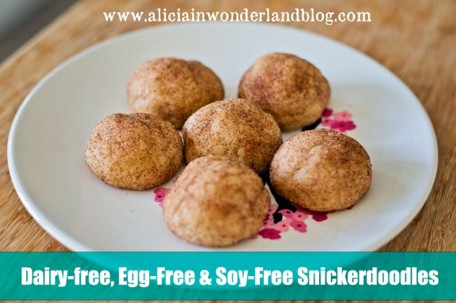 Dairy-free, Egg-Free, Soy-Free Snickerdoodles Recipe