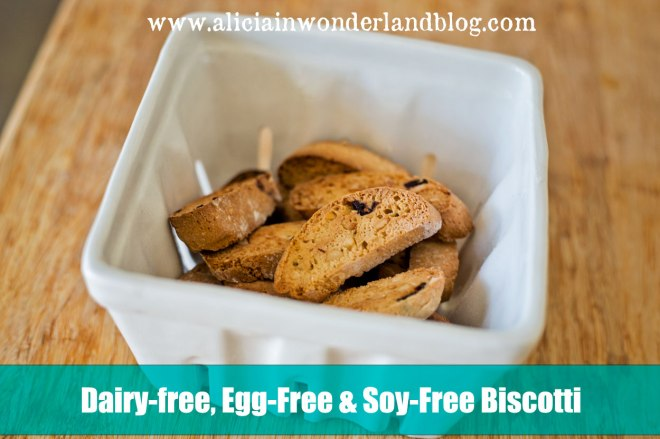 Dairy-free, Egg-Free, Soy-Free Biscotti Recipe
