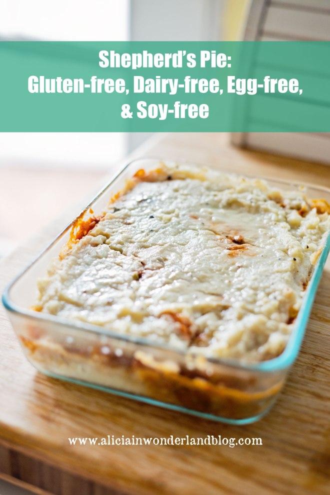 shephard's pie - gluten, dairy, soy & egg-free