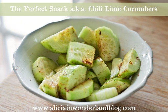 Street Vendor Style Chili Lime Cucumbers